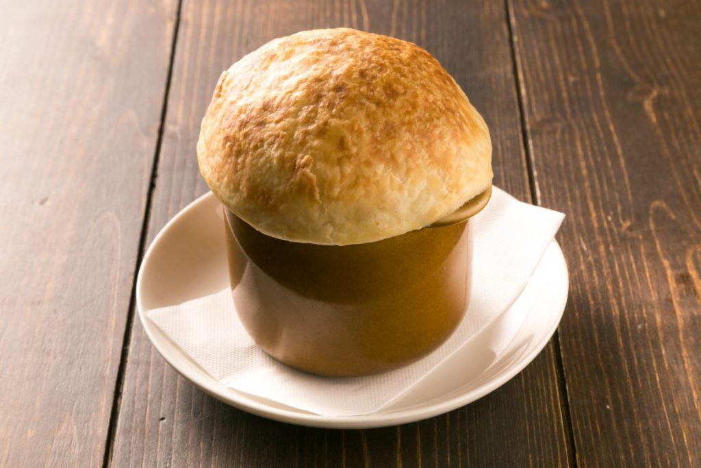 ANTIPASTO_きのこのつぼ焼きスープ
