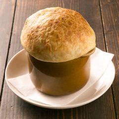 きのこのつぼ焼きスープ ¥420